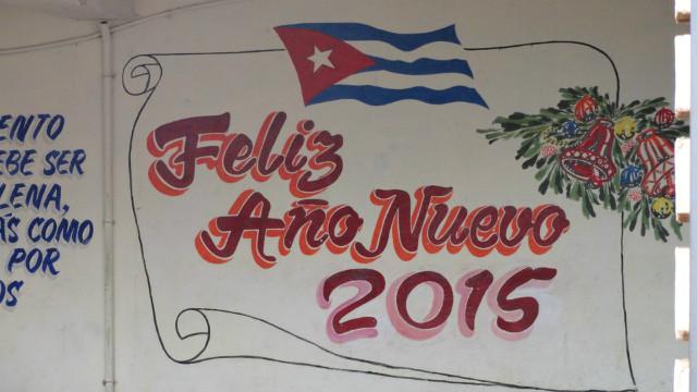 Cuba 5.2015. 스페인어로 쓴 2015년 신년하례.JPG