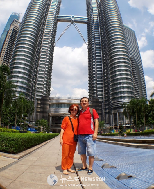 5세계일주 중에 아내의 생일에 맞추어 말레시아 쿠알라룸푸르에서 견우와 직녀가 되었다.jpg